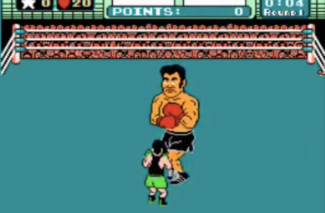 Nintendo Mike Tyson Punch Out