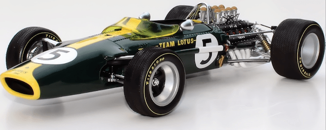 Automodello Jim Clark Lotus