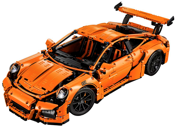 Lego Porsche 911 GT3 RS model