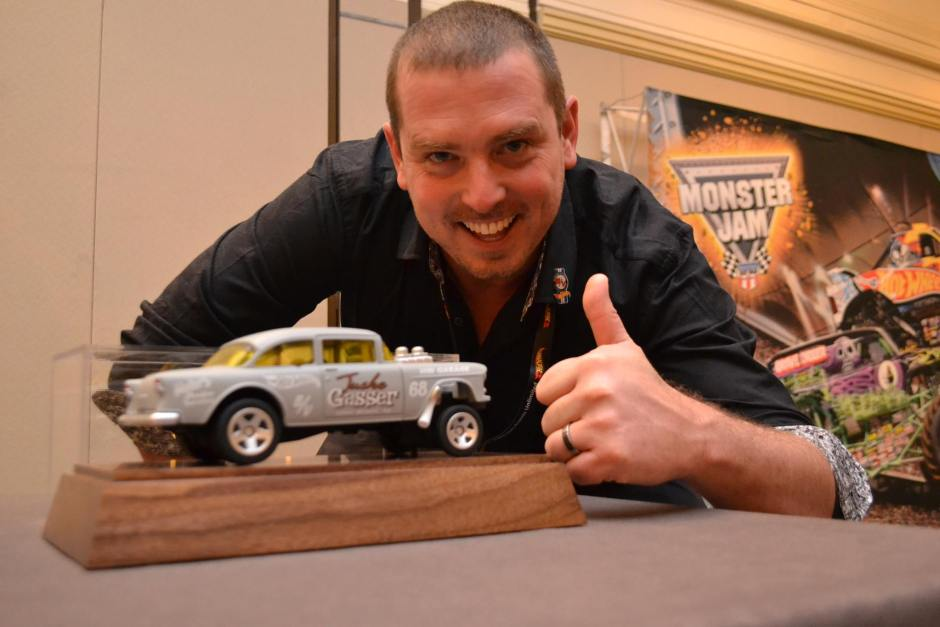 Where else can you discuss planned models with folks like Hot Wheel designer Brendon Vetuskey?