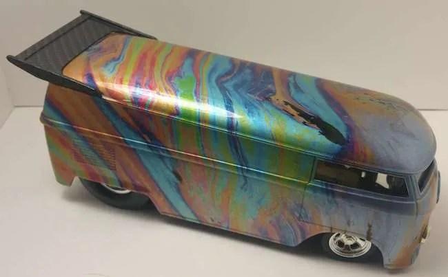 jimbo powers 1:18 hot wheels drag bus custom