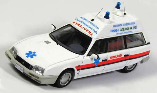 Kess Scale Models 1987 Citroën CX TGE Break Ambulance Fraternita Misericordia