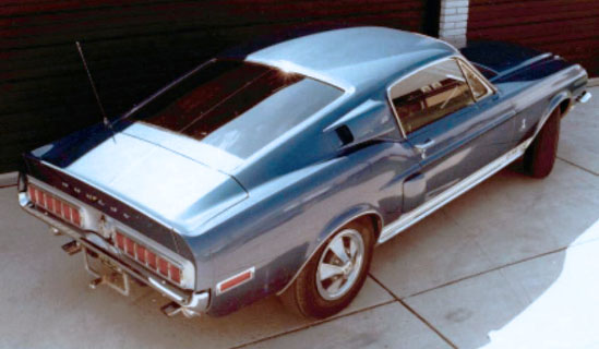 Charlie McHose Shelby Mustang
