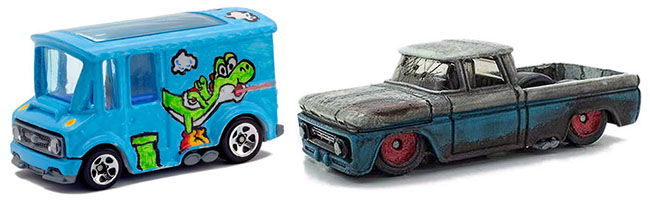 brew city customs hot wheels kool kombi