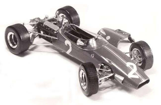 Heller Brabham Cosworth BT15 F3 Formule III