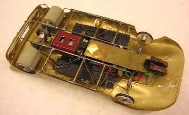 vintage hand made 350 slot car motors