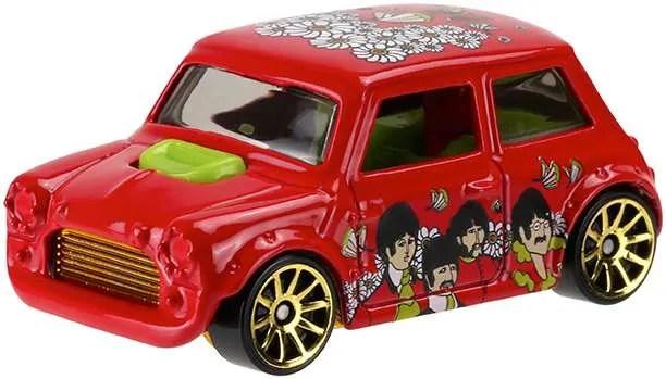 Hot Wheels Beatles Yellow Submarine Morris Mini