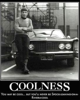 """Spock Leaning on a 1964 Riviera"" is Coolest Hot Wheels Car Ever"