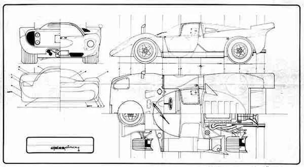 Heller Ferrari 512M