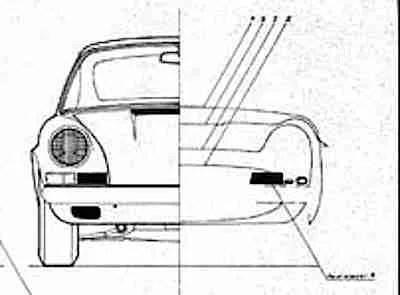 heller porsche 911R kit
