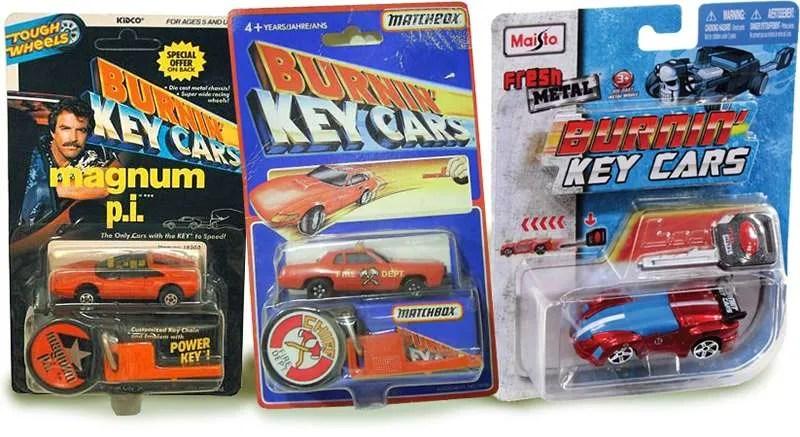 burnin key cars