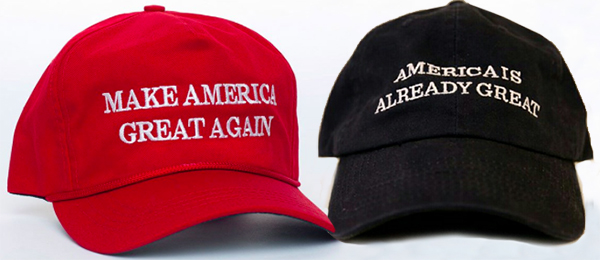 trump clinton hat