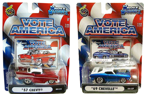 muscle machines 57 chevy 69 chevelle vote