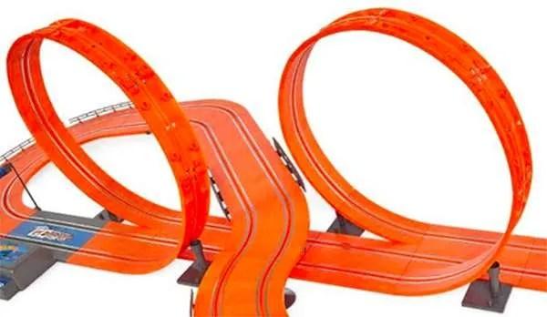 hot wheels tyco slot car loop