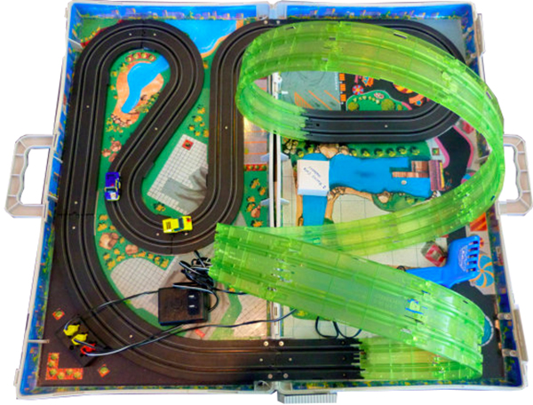 micro machines slot car set