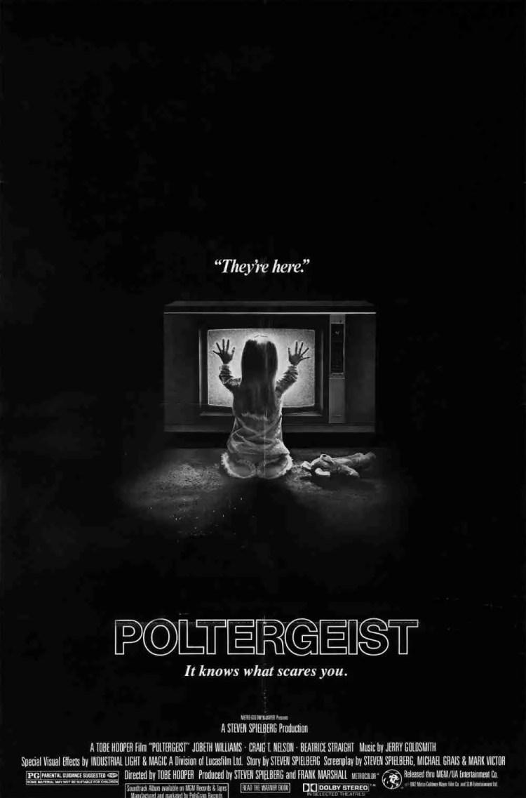 Poltergeist Original US Movie Poster
