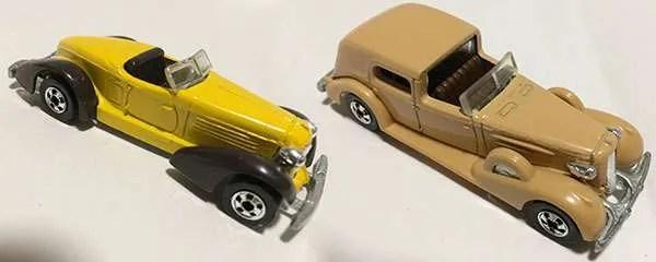 Hot Wheels Auburn Classic Caddy