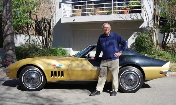 Alan Bean and Corvette