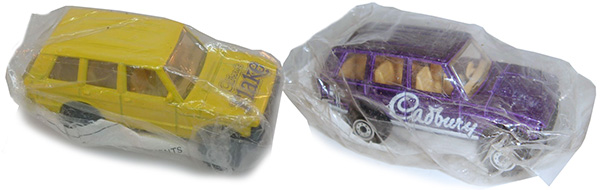hot wheels cadbury range rover
