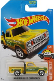 hot wheels dodge lil red express