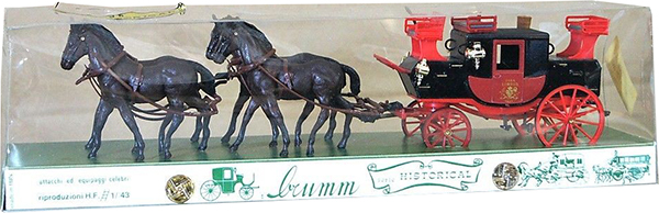 brumm horse carriage