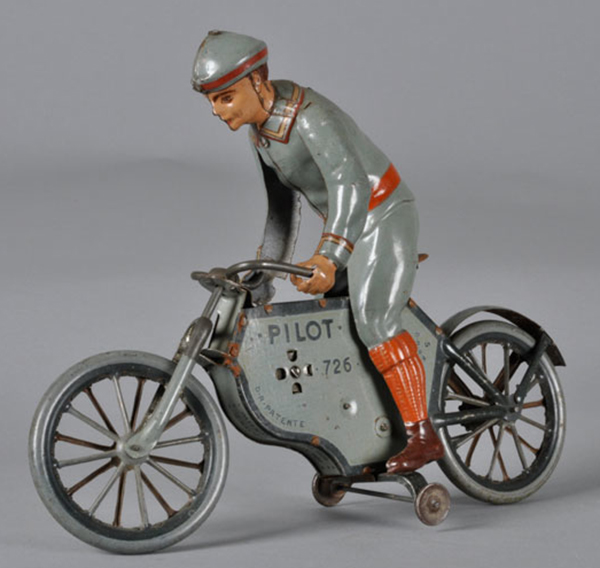 LEhmann Tinplate motorcycle