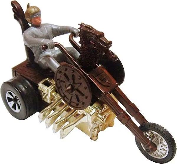 Hot Wheels Sizzlers Chopcycle Triking Viking