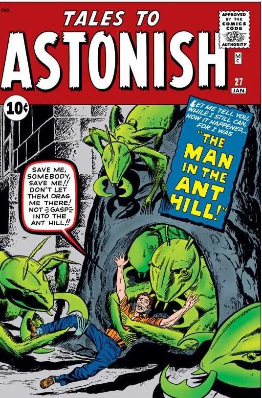 Tales to Astonish #27