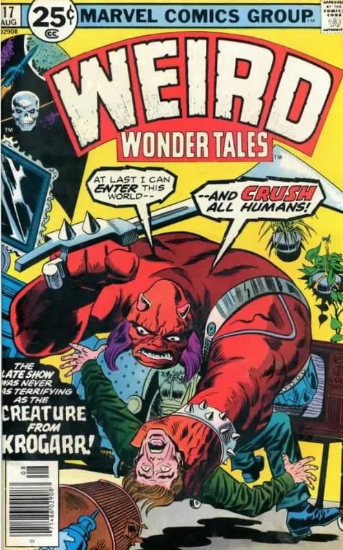 Weird Wonder Tales No. 17