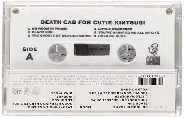 death cab for cutie cassette