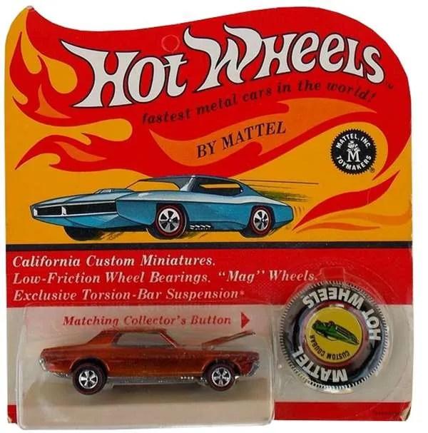 hot wheels blister card