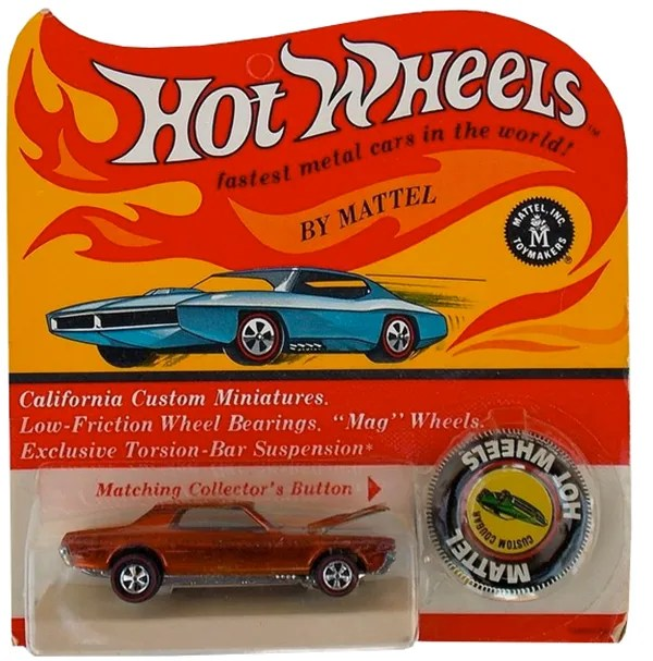 hot wheels blister card