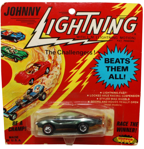 johnny lightning blister card