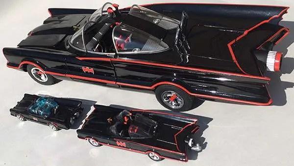 hot wheels lincoln futura batmobile