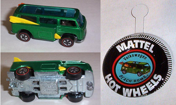 hot wheels error beach bomb