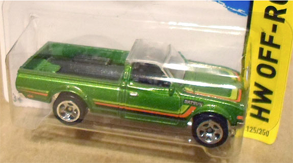 hot wheels error datsun pickup