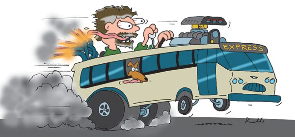 ed roth bus driver ron ruelle