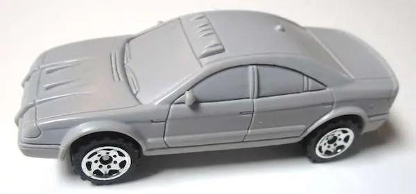 matchbox prototype police car resin
