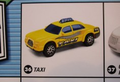 matchbox prototype taxi