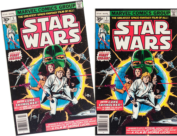 star wars marvle comic issue 1
