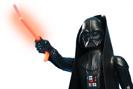 double telescoping darth vader