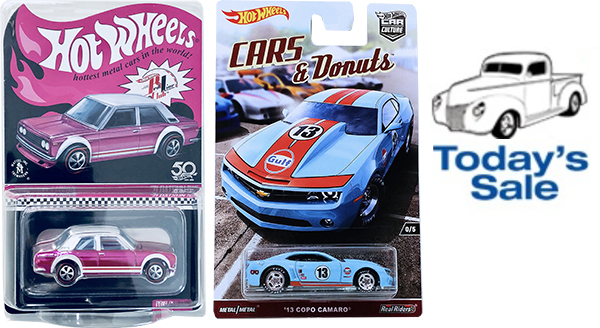 today's sale hot wheels
