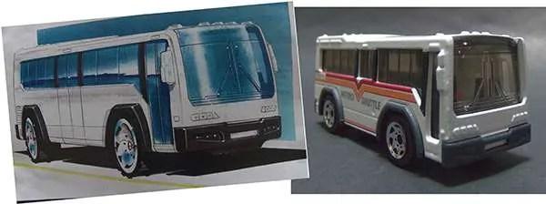 Matchbox City Bus