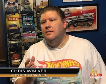 hot wheels history channel walker