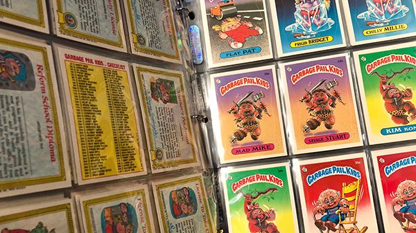 garbage pail kids