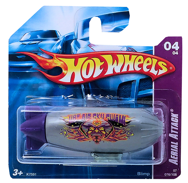 hot wheels blimp