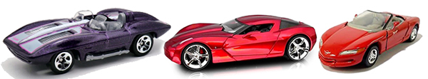 sitingray hot wheels auto art