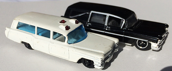 matchbox ambulance hearse