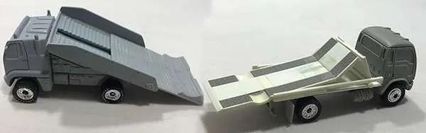 matchbox prototype ramp trucks