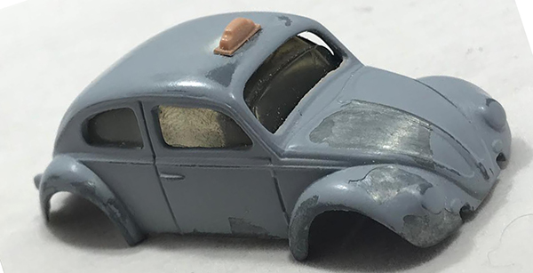 matchbox prototype vw taxi